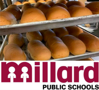 loaves of bread with Millard logo